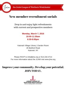 JLNW Spring Recruitment Invite